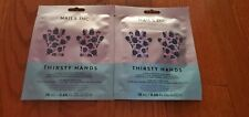 2 Pairs Nails Inc London Nails Inc Thirsty Hands Hydrating Hand Mask New