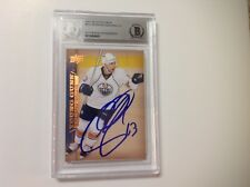 Andrew Cogliano Signed UD Upper Deck Young Guns Card RC Beckett BAS BGS b