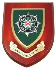 POLICE SERVICE OF NORTHERN IRELAND COUNTER TERRORISM UNIT CLASSIC  PLAQUE