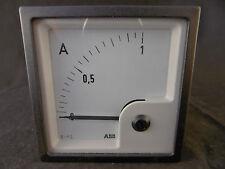 ABB / WEIGEL EQ72K Amperemeter Schalttafel-Einbauinstrument, NEU, OVP