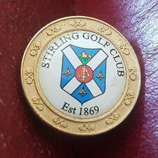 New listing Stirling Golf Club Ball Marker