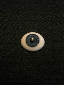 Pabol 20MM CC02-G Cobalt Blue Glass Eyes Oval Flatback for reborns