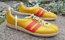 Vintage baseball trainers BW-Sport soles yellow/ red UK 7 EU 40 Ludwig reiter