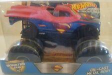 1/24 HOT WHEELS MONSTER JAM SUPERMAN DIECAST METAL BODY ***NEW & RARE***