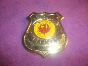 Ruger Firearms security badge