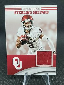 Sterling Shepard Sooners 2016 Panini Oklahoma Team Collection Jersey Relic RC W