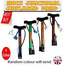 MULTI-FUNCTIONAL HIGH PRESSURE FLOOR STANDING BIKE/CYCLE HAND PUMP UK seller