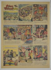 PRINCE VALIANT Full Color SUNDAY PAGE King Features Hal Foster 12/7/1947, #565