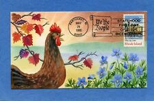 Scott #2348 Rhode Island Statehood Jeanne Horak Hand Drawn & Hand Painted FDC