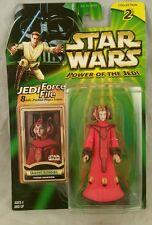 Queen Amidala Theed Invasion 2001 Power of the Jedi POTJ Star Wars Action Figure