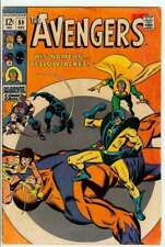 AVENGERS #59 3.5