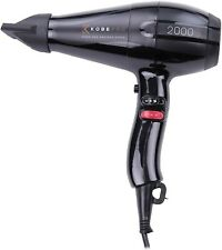 Kobe Pro 2000S Black Hair Dryer - Variable Settings for Professional Results