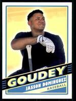 2020 Goodwin Champions Goudey #G45 Jasson Dominguez RC