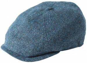 Failsworth Millinery Silk Mix Hudson Bakerboy Cap