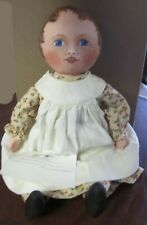 Reproduction Columbian Cloth Doll by Carolyn Folsom 2006 Pattern by Susan Fosnot