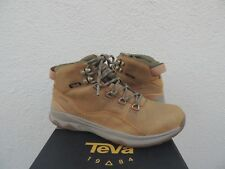 TEVA ARROWOOD UTILITY MID WP LEATHER SNEAKER BOOTS, MEN US 8.5/ EUR 41.5 ~NEW