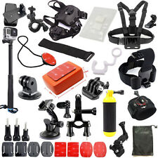 Outdoor Sport Camera Accessories Bundle Kit for GoPro Hero 5 4 3+ 3 2 1 Session