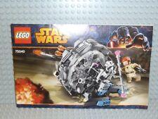 Lego ® receta Star Wars 75040 general Grievous Wheel ungelocht b32