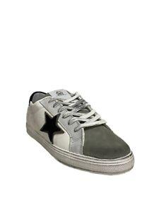 scapa sneakers bassa donna bianca pelle grigio nero camoscio nuovo made in italy