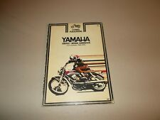 CLYMER YAMAHA TWINS SHOP MANUAL 90 - 350 1965 thru 1972