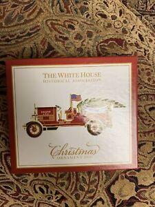 Official White House Christmas Ornament 2016 Barack Obama