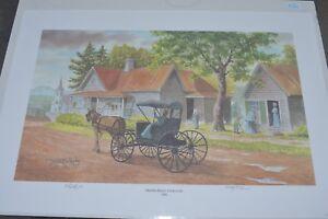 JOHN KOLLOCK *MAULDIN HOUSE CLARKSVILLE 1906* Signed&Numbered 367/750 date 1999