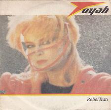 """Toyah - rebel run/to the mountains high 45"""""""