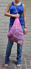 Marc By Marc Jacobs Mesh Tote Bag Handbag Pink Red Purple Blue Green New