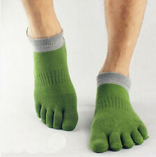 Novelty 1 pairs Stylish five finger toe socks mens socks pure cotton sports Cute