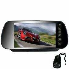 """TOYOTA 7"""" REPLACEMENT MIRROR REVERSING / REAR VIEW HD 800 X 480 +CAMERA"""