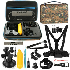 Puluz 20 in 1 Accessori Combo Kit con Custodia Camouflage Eva (chest Strap (9wz)