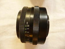 Camera lens 42mm thread CARL ZEISS  50mm f1:2,8 No. 337537 ..  J5
