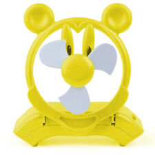 Yellow Mickey Mouse USB Fan Soft Blade Brand New