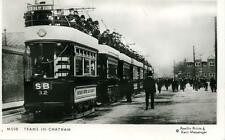 Pamlin repro photo postcard M508 Trams in Chatham Kent c1905