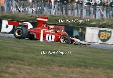 Clay Regazzoni Ferrari 312 B3 BRITISH GRAND PRIX 1974 Photo 2