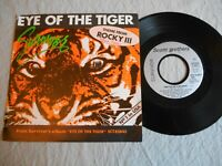 EYE OF THE TIGER SURVIVOR ROCKY 3 (1982) TAKE YOU ON A SATURDAY VINYLE 45 TOURS
