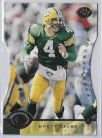 1996 Leaf Brett Favre Press Proof Die Cut SP No. 44 HOF Packers!