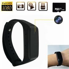Bracelet Watch HD 1080P SPY Hidden Camera DVR Video Recorder Wrist Security 32GB