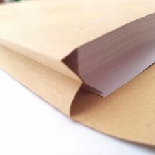 25 x C4 Gusset Envelopes Strong Brown Manilla A4 115gsm 25mm Thick Expanding