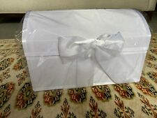 Wedding Post Box Brand New  All White with Bow/Ribbon, Strong For All Occasions
