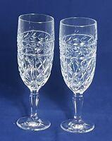 Beautiful Pair of Crystal Wine Glasses