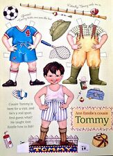 Mary Engelbreit Mag. Paper Doll, TOMMY, June/July 2001, Uncut