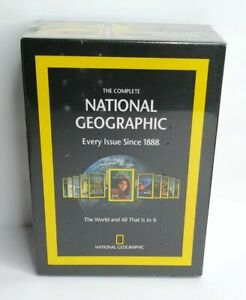 The Complete National Geographic Every Issue Since 1888 DVD-ROM Set NEW Sealed