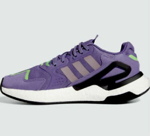 Adidas Day Jogger Originals women's sneakers shoes size 9 purple/green FW4827