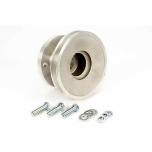 Moroso 64120 Cast Aluminum Crankshaft Pulley For 69 Up Chevy 302-350 NEW