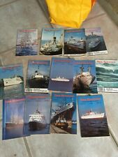Sea Breezes Ships And The Sea Magazines 1980 - 1992