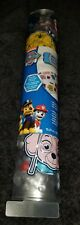 NEW NICKELODEON PAW PATROL SIGNATURE ALL OVER PAWS DECORATIVE SHOWER BATH MAT.