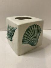 Beach Ocean Sea Shell Kleenex Tissue Cover Cube Box