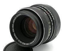 Lens PANCOLAR auto 1,8/50 MC + Lens case - Carl Zeiss Jena, (M 42)