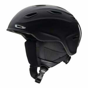 Smith Aspect Ski Snowboard Helmet Medium 55-59cm Matte Black UK SHIP FOC